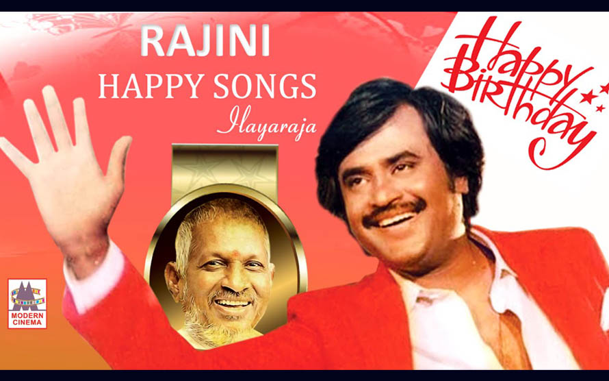 Ilaiyaraaja Isaiyil RAJINI HAPPY SONGS